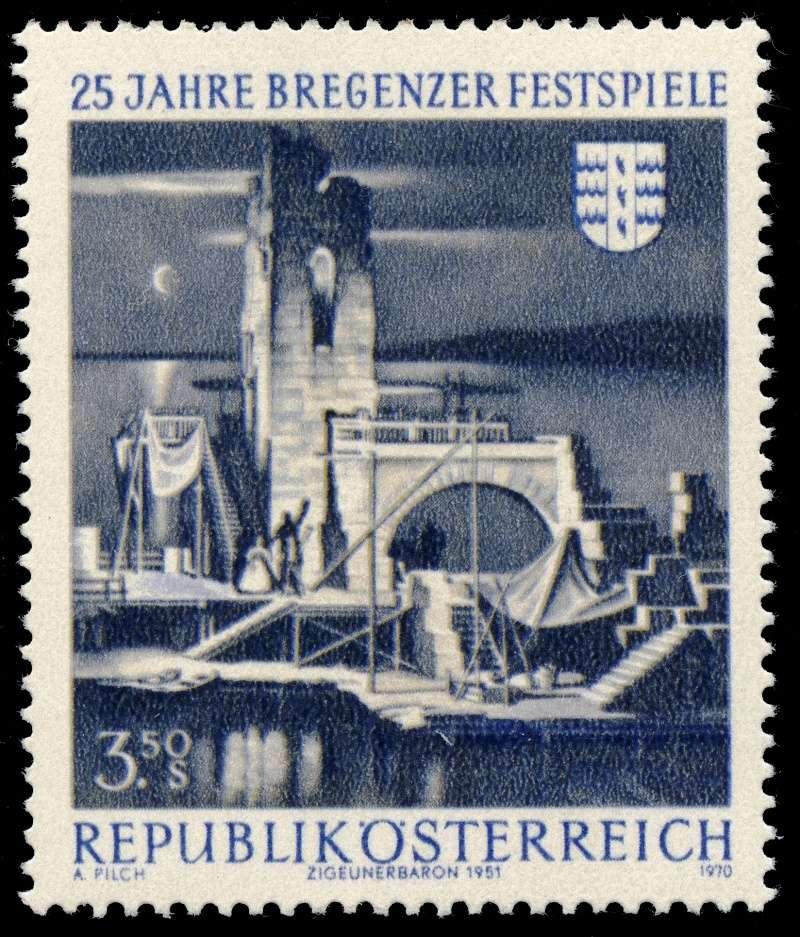Briefmarken - Österreich, Briefmarken der Jahre 1970 - 1974 Ank_1310