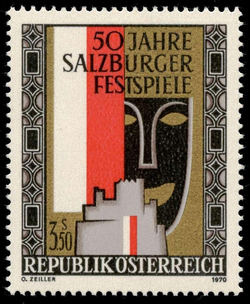 Briefmarken - Österreich, Briefmarken der Jahre 1970 - 1974 Ank_1311