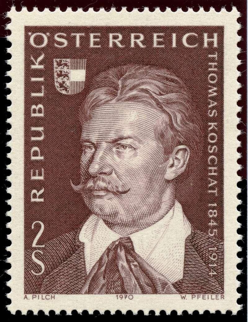Österreich, Briefmarken der Jahre 1970 - 1974 Ank_1312