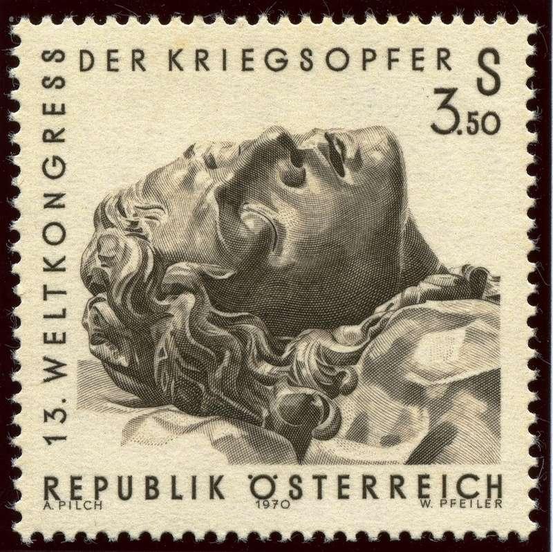 Österreich, Briefmarken der Jahre 1970 - 1974 Ank_1313