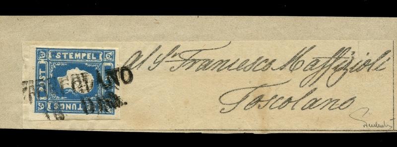 DIE ZEITUNGSMARKEN AUSGABE 1858 Ank_1611