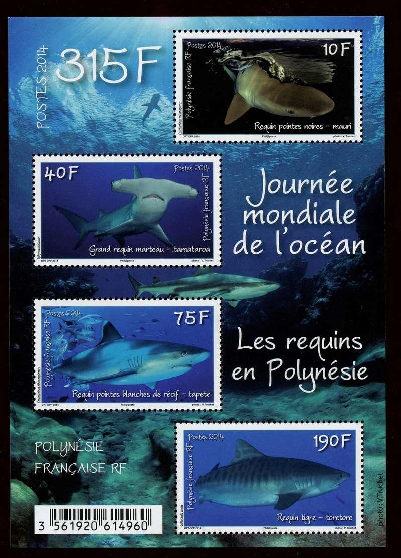 Haie auf Briefmarke Img36410