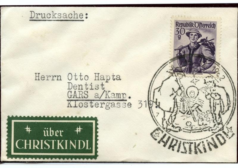 Trachtenserien ANK 887 - 923 und 1052 - 1072 Belege - Seite 9 Img36910
