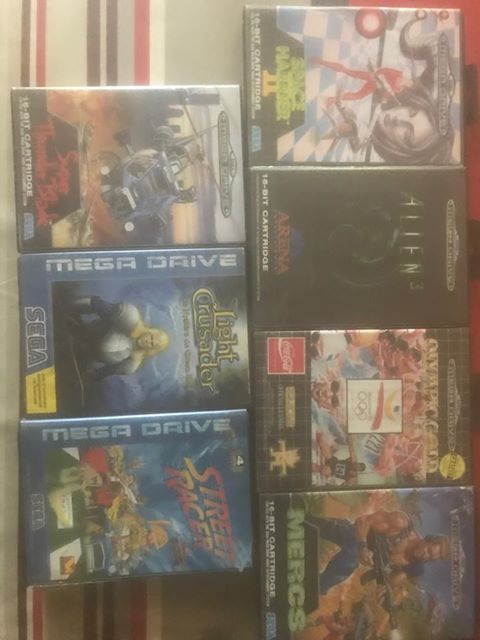 [VDS ] Lot Megadrive  Md_lot11