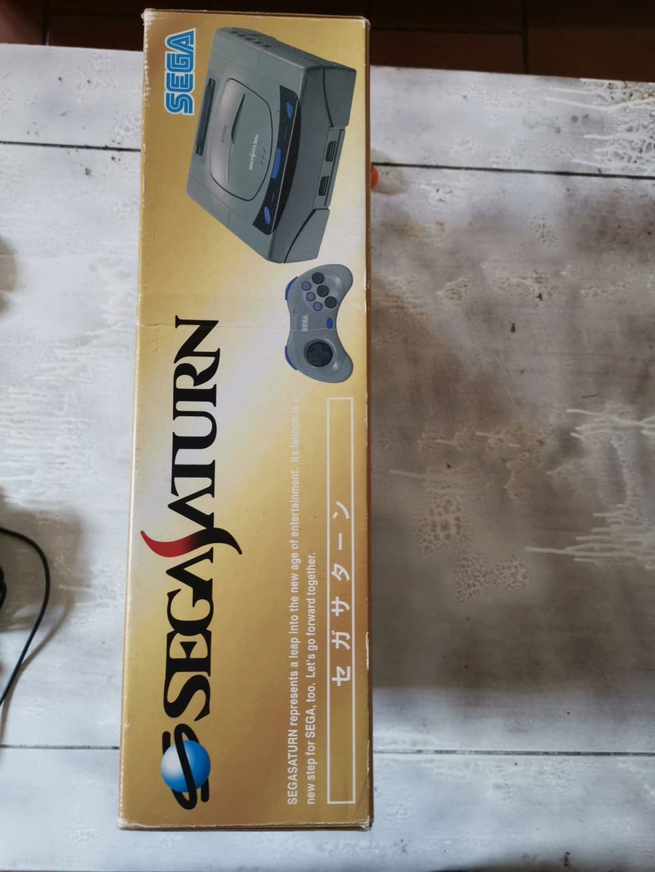 [VDS] Lot Console Saturn Jap grise en boite  Saturn18