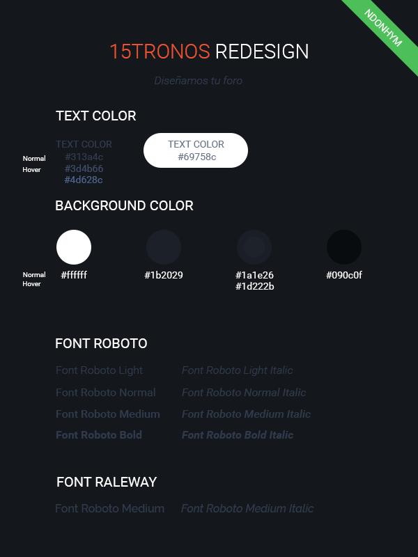 15 Tronos | Diseñamos Tu Foro - Muro 15tron10