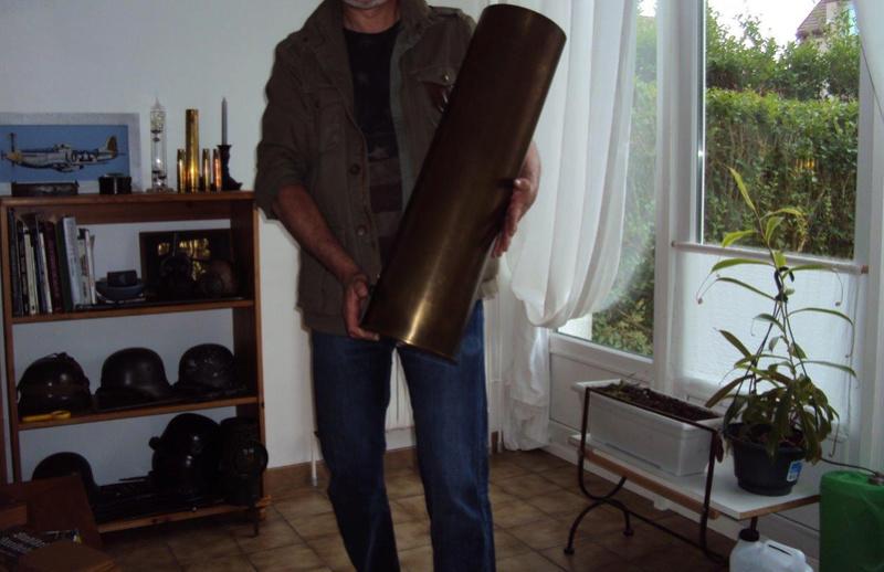 DU très très lourd ... Douille WW2  de 170 mm allemand  Obus_113