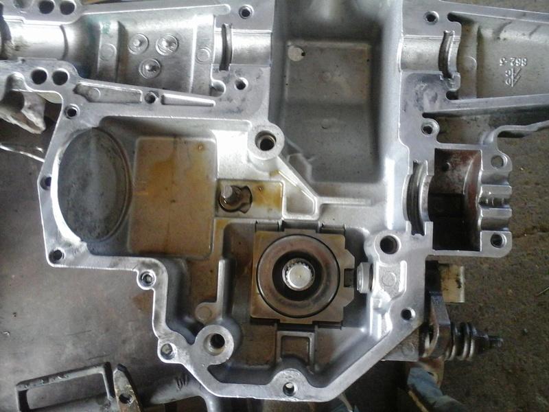 Tuff torq k46 Service manual trigger start Torch head