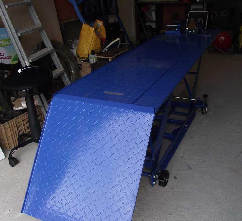 Table élévatrice moto Table210