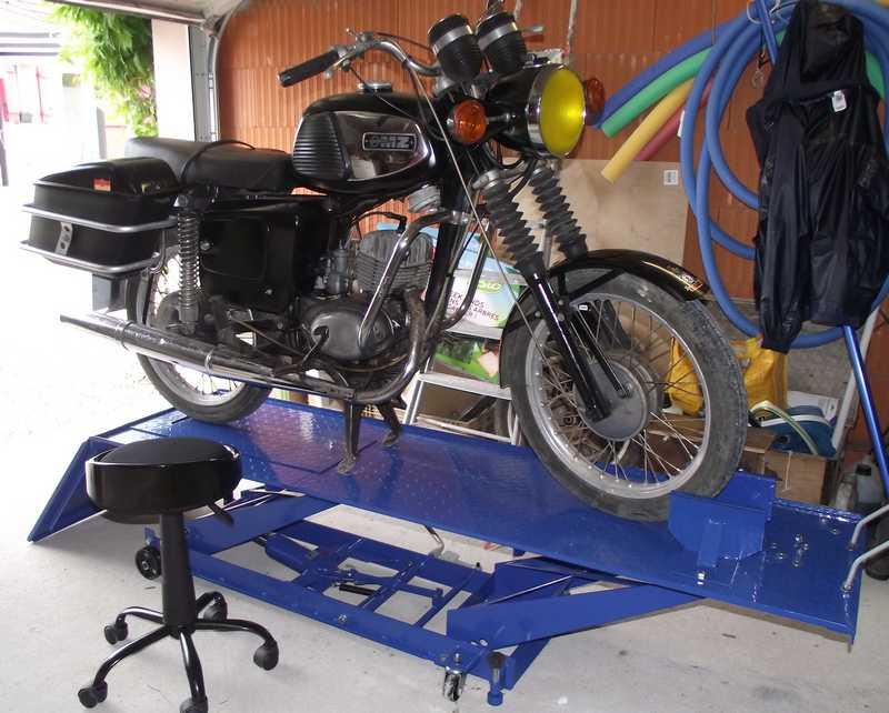 Table élévatrice moto Table310