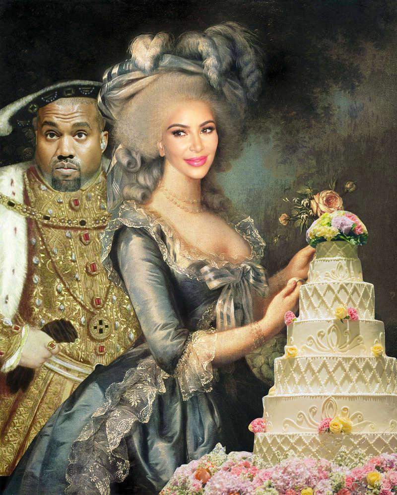Kim  Kardashian, nouvelle Marie Antoinette  Kardas10