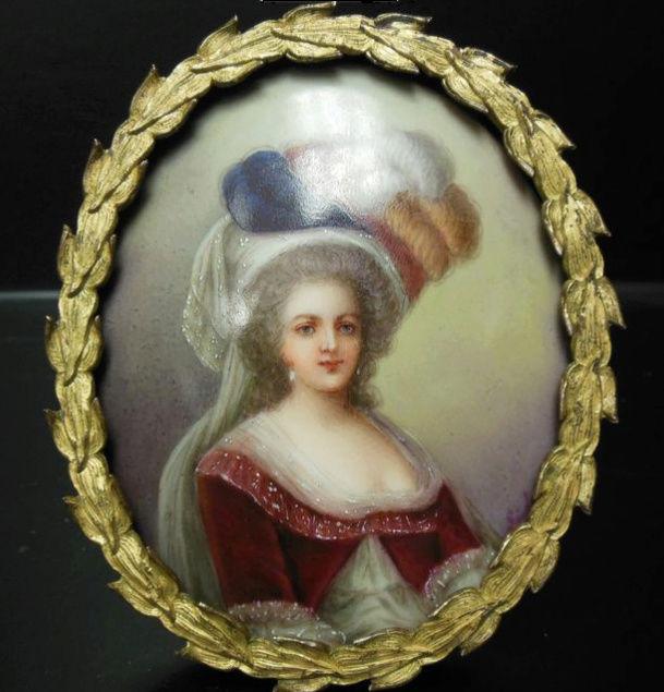 Déclinaisons faites d'après le portrait de Marie Antoinette et ses enfants de Vigée Lebrun Zmin10