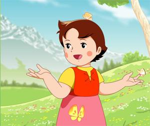 lister les personnages alphabétiquement  Heidi-11
