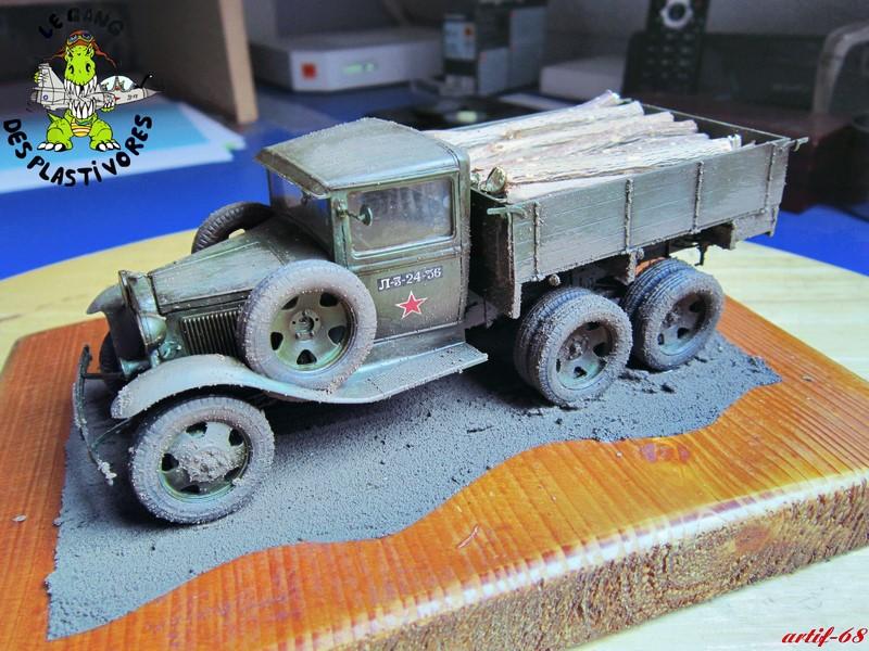 GAZ-AAA mod 1940 Cargo truck Img_4519