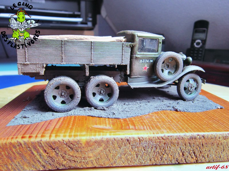 GAZ-AAA mod 1940 Cargo truck Img_4520