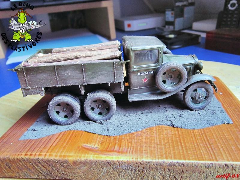 GAZ-AAA mod 1940 Cargo truck Img_4521