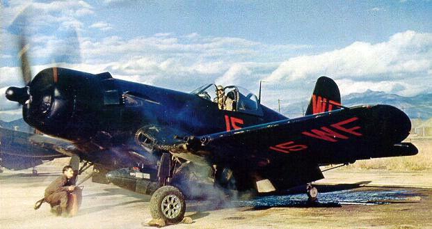 [HASEGAWA] Corsair F4U-5N au 1/48° Vought10