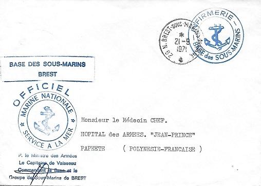 BREST - SOUS-MARINS - MARINE Btrest10