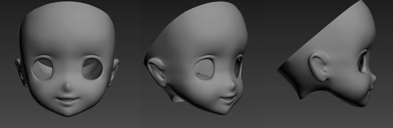 [Tête anime] 3D finie + WIP Freyja Mddfb10