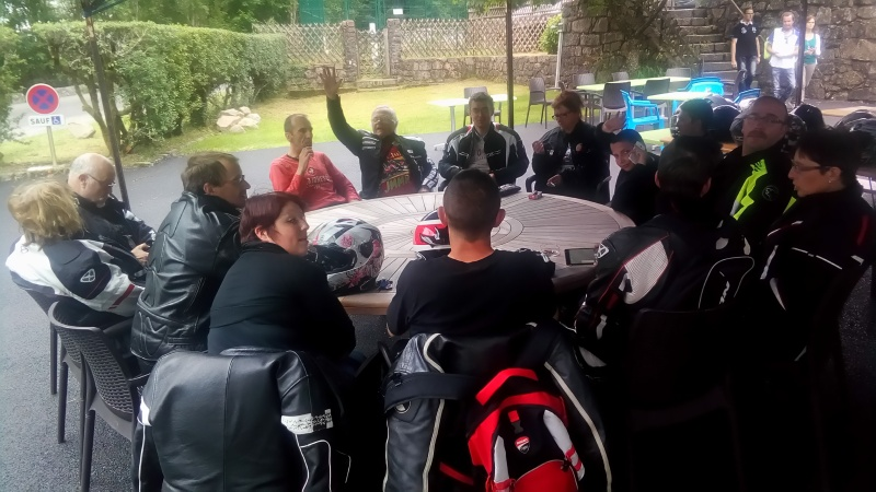 C.R. Rallye gourmand Vosges Moto Evasion. Rallye14