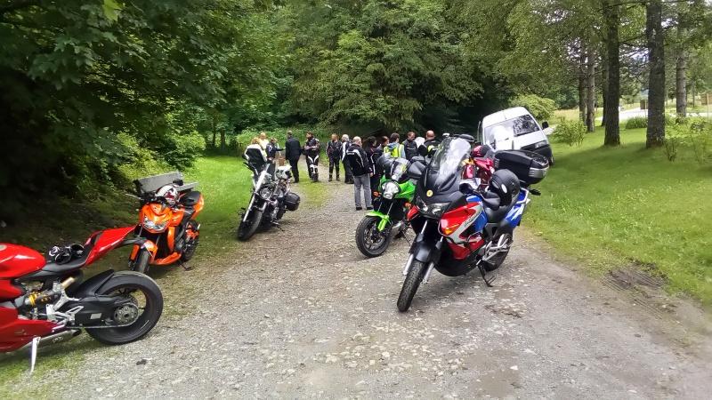 C.R. Rallye gourmand Vosges Moto Evasion. Rallye15