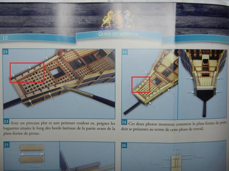 """Construction du """"Sovereign of the Seas"""" (SotS) au 1/84 (Partie 2)  - Page 23 Dscn4116"""