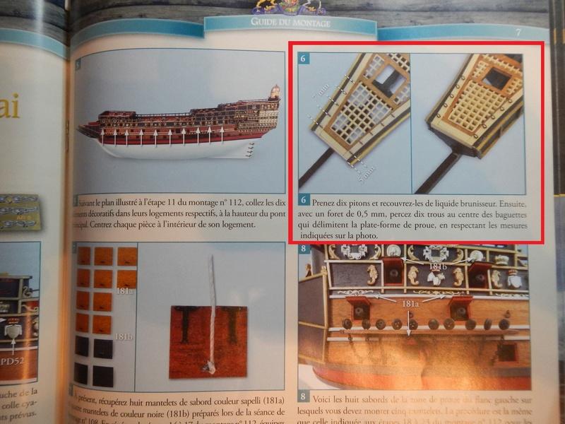 """Construction du """"Sovereign of the Seas"""" (SotS) au 1/84 (Partie 2)  - Page 23 Dscn4117"""