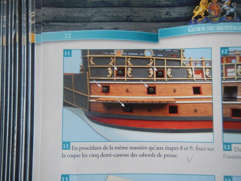 """Construction du """"Sovereign of the Seas"""" (SotS) au 1/84 (Partie 2)  - Page 23 Dscn4123"""