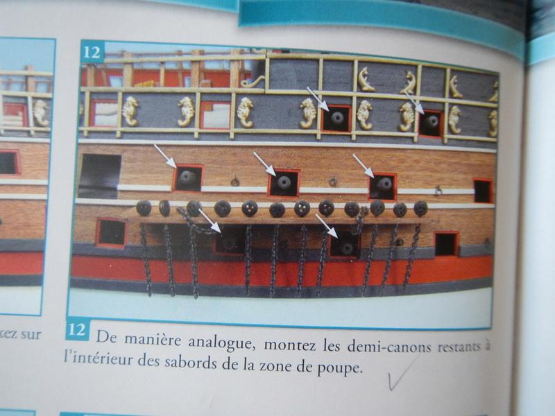 """Construction du """"Sovereign of the Seas"""" (SotS) au 1/84 (Partie 2)  - Page 23 Dscn4125"""