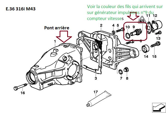 [ Bmw e36 316i M43 an 1997 ] Problème de compteur 33_e3610