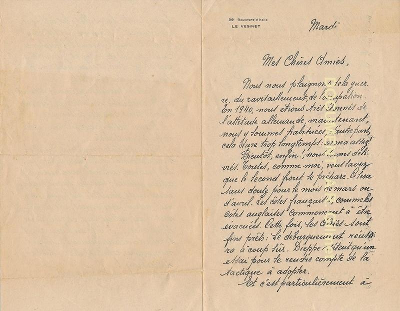 Une lettre ronéotypée 1944 Docume14