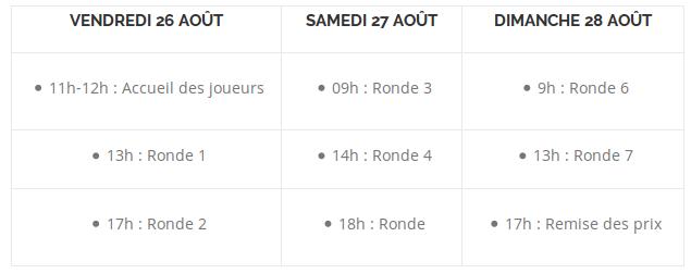 Open de France 2016 Calend10