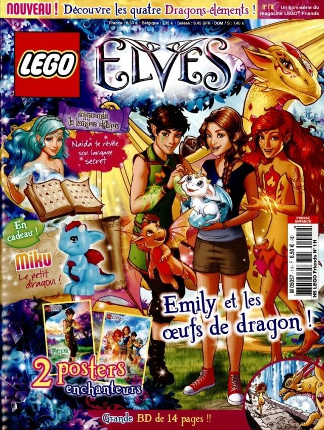 (Produit dorénavant indisponible) 2016 - LEGO® Poly Bag Magazine, Miku le petit dragon ! M5057h10