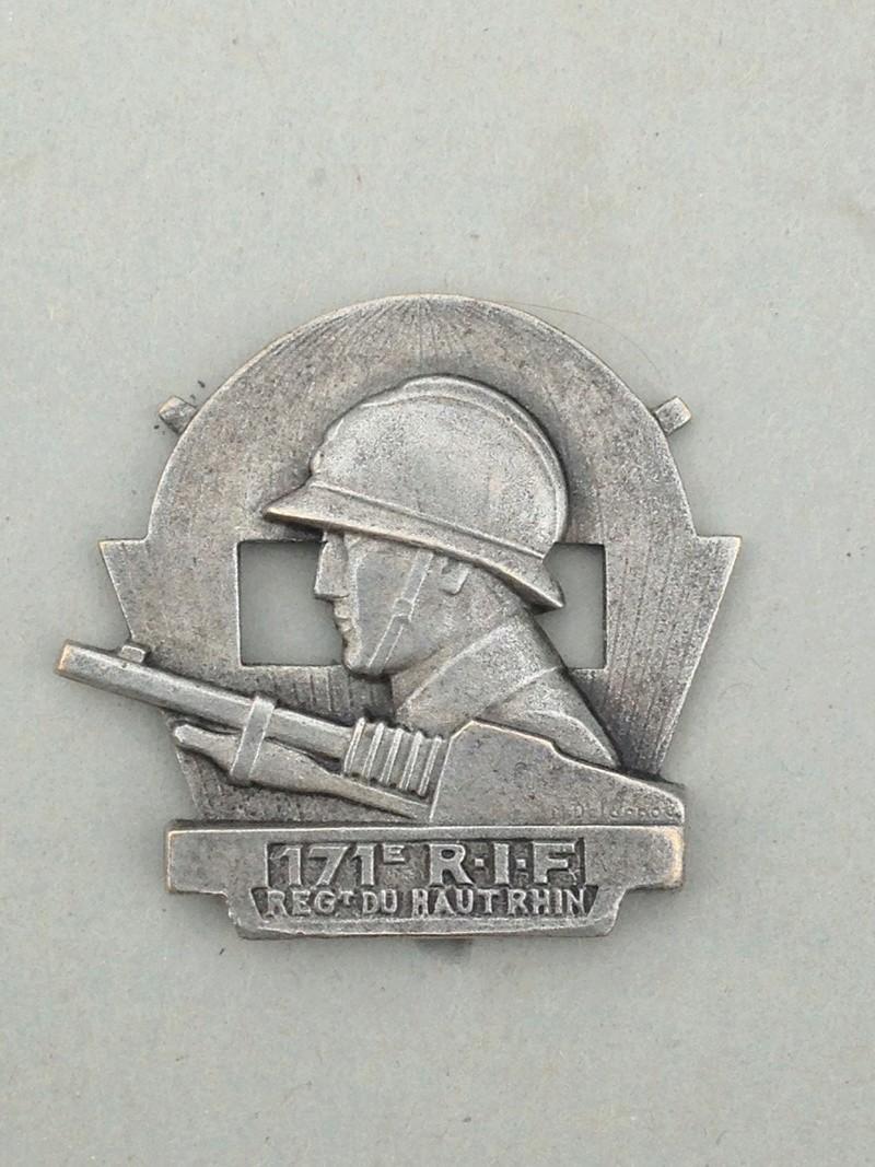 insigne du 171° RIF  Img_0010