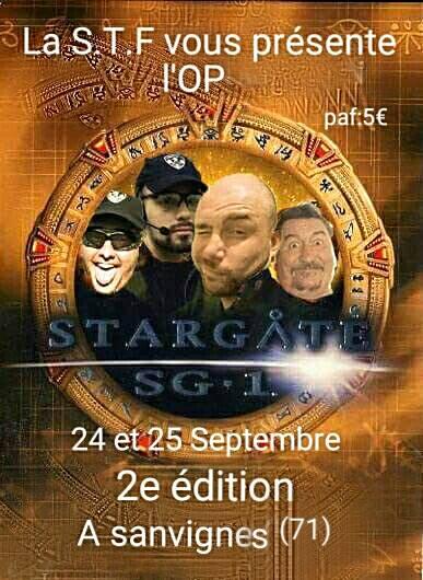 STARGATE 2, le 24 et 25 Septembre 2016 à Sanvigne les Mines. 13932711
