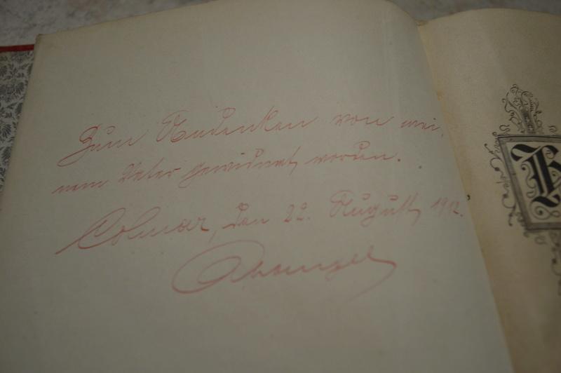 Ancien livre Allemand/Prusse. _dsc0723