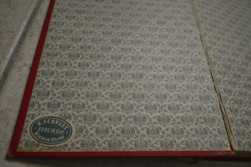 Ancien livre Allemand/Prusse. _dsc0725