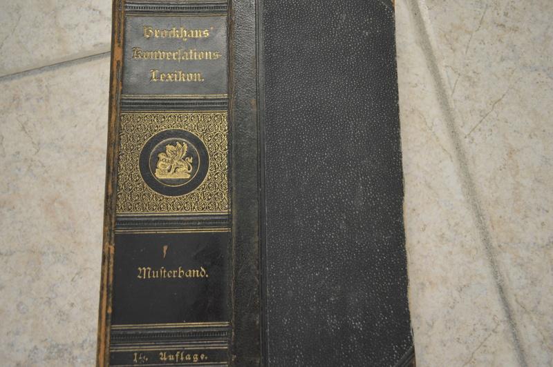 Ancien livre Allemand/Prusse. _dsc0727