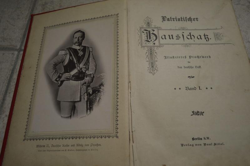 Ancien livre Allemand/Prusse. _dsc0728