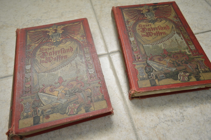 Ancien livre Allemand/Prusse. _dsc0729