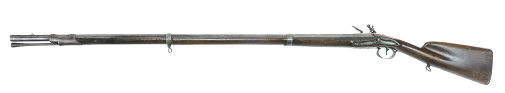Identification d'un fusil à silex militaire vers 1750. Ll0d3a10