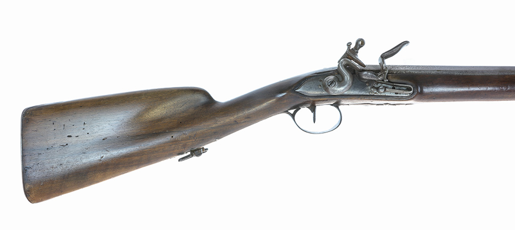Identification d'un fusil à silex militaire vers 1750. Ll0d3a12