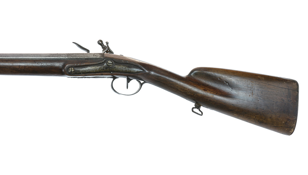 Identification d'un fusil à silex militaire vers 1750. Ll0d3a13