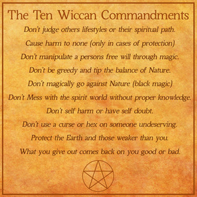 Wicca Commandments Wiccac10