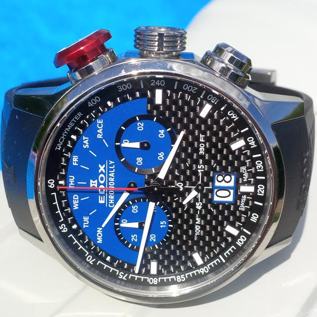 EDOX Chronorally Sauber F1 Team Limited Edition Le_lun10