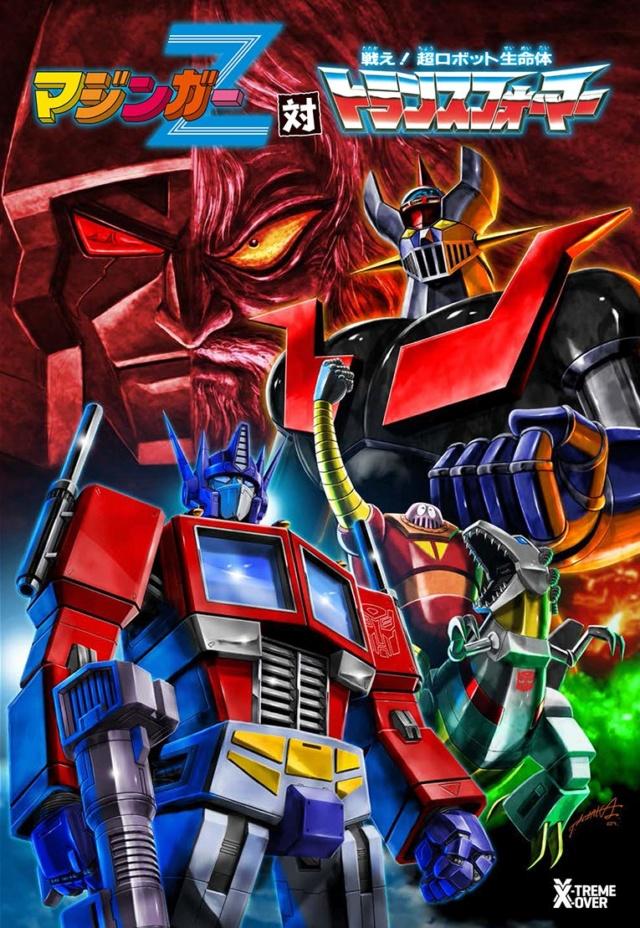 Manga Mazinger Z vs Transformers Transf10