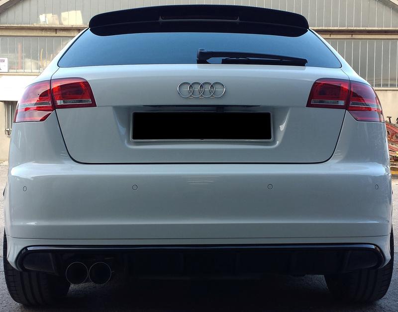 frask Vs Audi A3 Sportback S line bianco pastello 39910