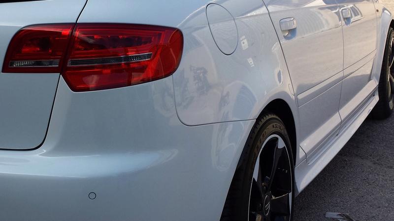 frask Vs Audi A3 Sportback S line bianco pastello 40210
