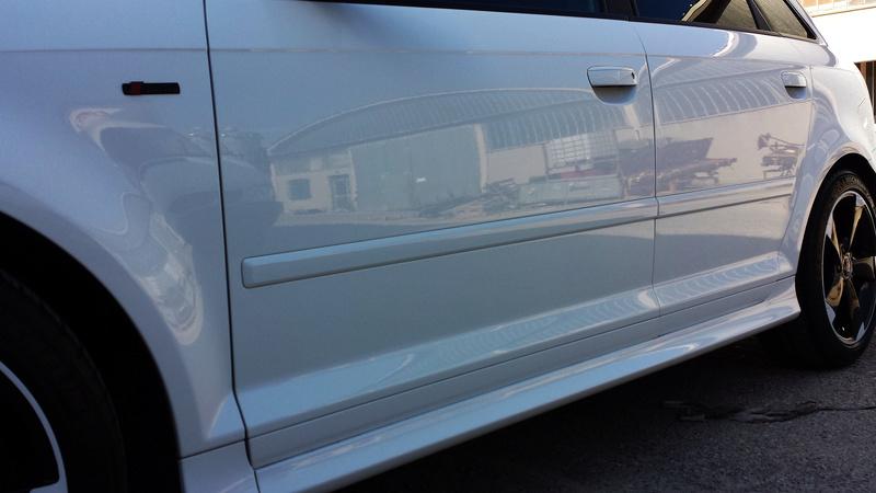 frask Vs Audi A3 Sportback S line bianco pastello 40310