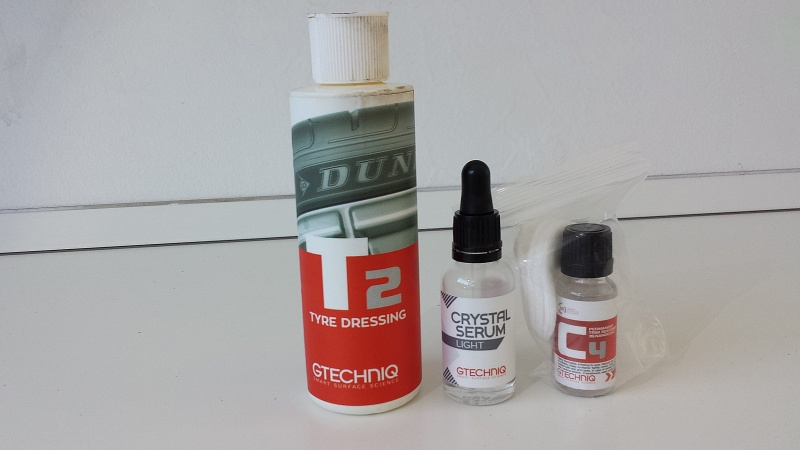 frask Vs Ford Mondeo Gtechniq Crystal Serum Light 6312
